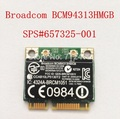 New Broadcom BCM94313HMGB BCM20702 wifi +4.0 Bluetooth wifi +4.0 Bluetooth half Mini PCI-E Wireless card for HP SPS:657325-001