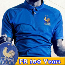 6faa77d48 NEW France soccer jersey 1919 2019 Special Edition Centenary 100 years HENRY  long sleeve 19