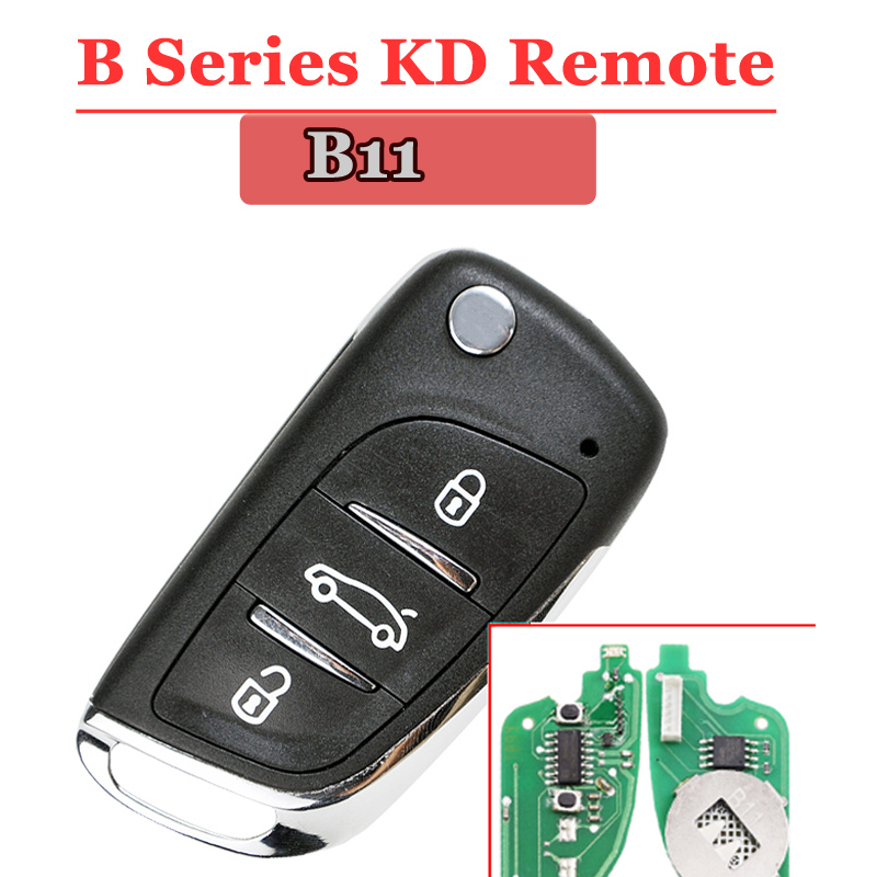 Free shipping (1 piece)B11 KD remote 3 Button B series Key for URG200 KD900 remote master