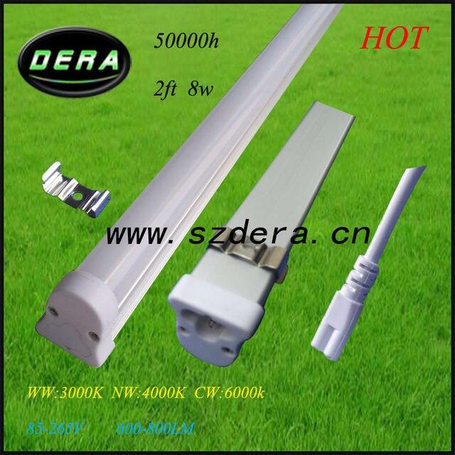 led tubes mirror bathroom light /2ft 600mm T5 Led tube high lumen ...