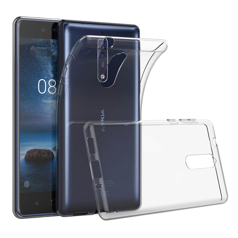 For Nokia 8 7 6 5 3 2 1 2.1 3.1 5.1 7.1 9 Plus X5 X7 2018 2017 Case Slim Clear Transparent