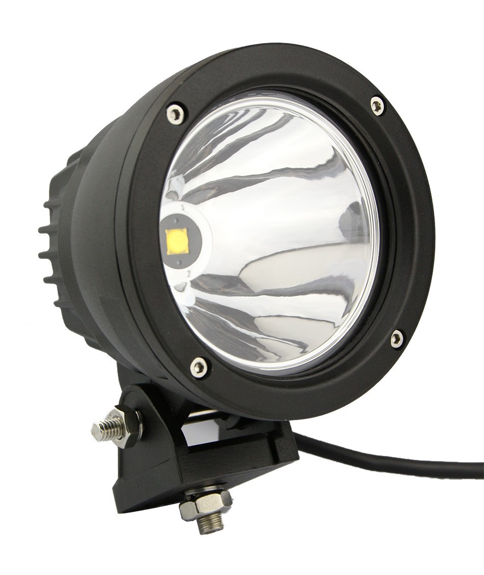 25w led work light 4x4 aluminium for cree spot led driving. Black Bedroom Furniture Sets. Home Design Ideas