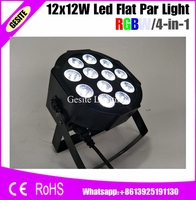 8pcs LOT 12pcs 12w Lamp Beads 12x12W Led Par Lights Professional Stage Dj Equipment