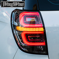Car Styling For Chevrolet Captiva 2009 2016 Taillights LED Tail Lamp Rear Trunk Lamp Cover Drl