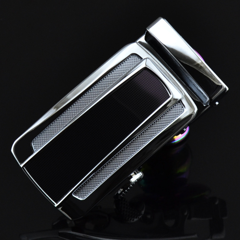 New Genuine Men's Belt Head, Belt Buckle, Leisure Belt Head Business Accessories Automatic Buckle Width 3.5CM Luxury Fashion G11