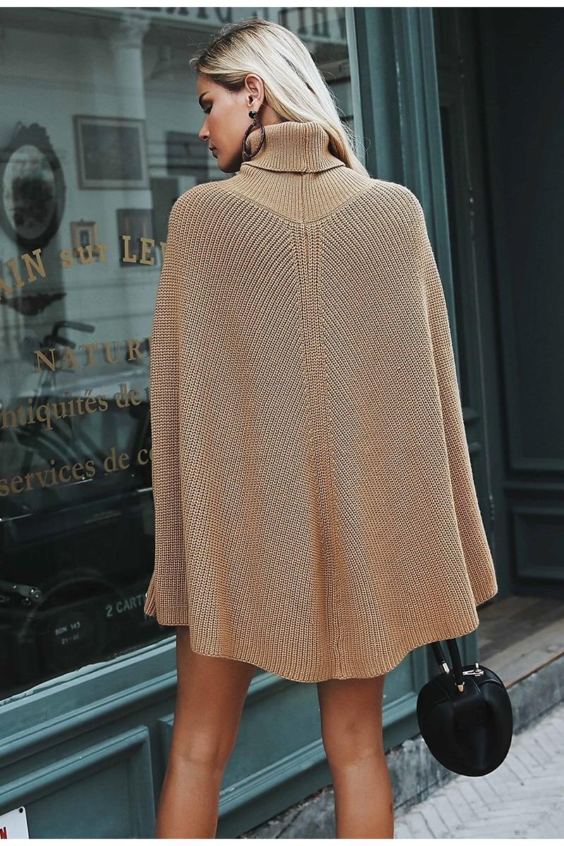 Sweater Cloak