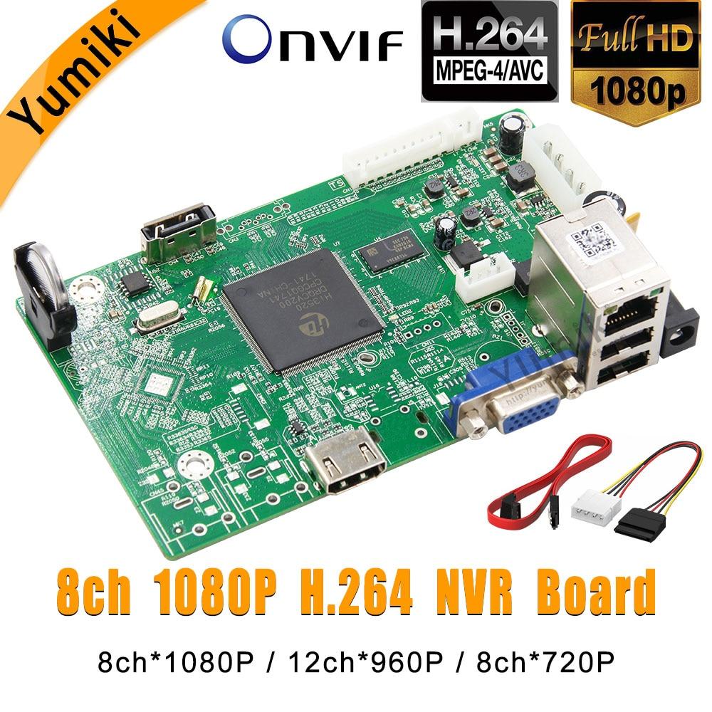 8ch*1080P/12ch*960P/8ch*720P H.264 NVR Network Vidoe Recorder DVR Board IP Camera with SATA Line ONVIF CMS XMEYE8ch*1080P/12ch*960P/8ch*720P H.264 NVR Network Vidoe Recorder DVR Board IP Camera with SATA Line ONVIF CMS XMEYE