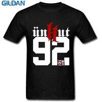 2017 Descuento 100% Algodón Camisetas Gildan personalizado Regalo de Manga Corta Del O-cuello Del Mens Unkut 92 Diseño Logo Camisetas