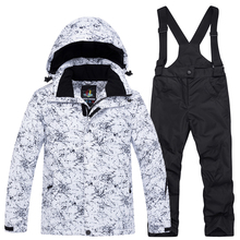 Детский лыжный костюм «Королева-30», верхняя одежда для катания на лыжах и сноуборде для девочек и мальчиков, водонепроницаемая теплая зимняя куртка+ штаны