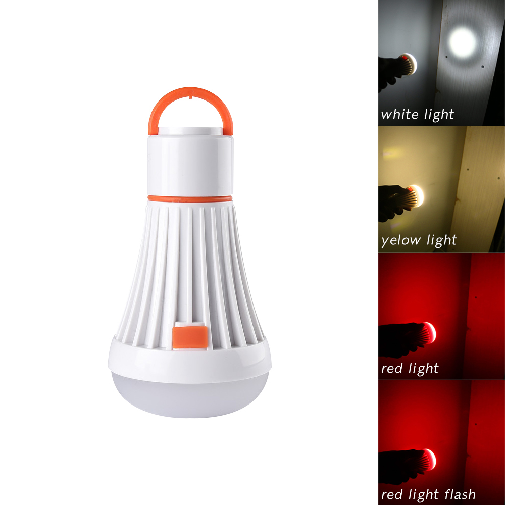 6LED 3W Portable Outdoor Camping Tent Light Torch Lantern Flashlight Hanging Lamp Adjustable Lanterna LED Lamp Task lighting