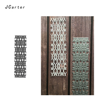 JC 2019 New Arrival Background Metal Cutting Dies for Scrapbooking DIY Embossing Folder Paper Handmade Album Crafts Stencils