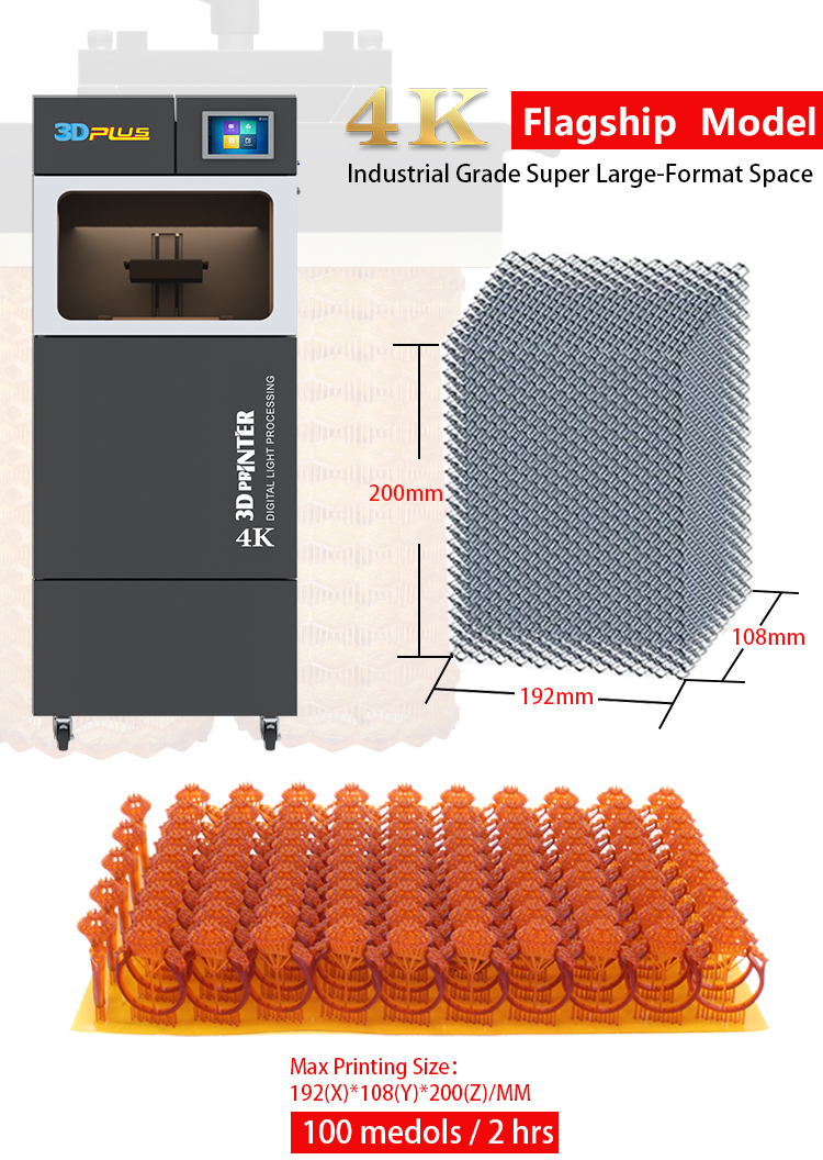 Special Price] The World First 4K DLP 3D Printer Industry