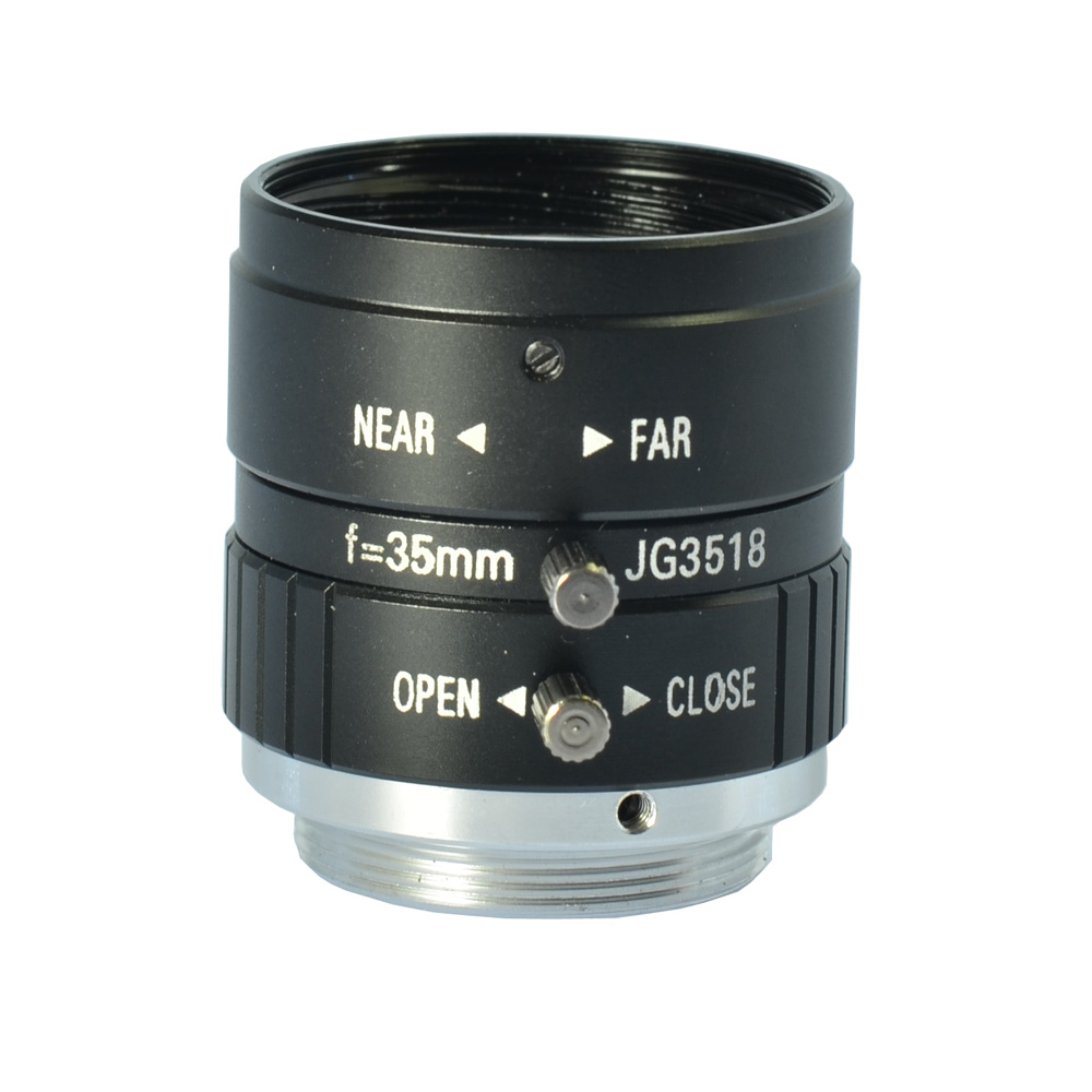 5MP 35mm F1.8 Manual Zoom Focus Iris C Mount Lens CCTV Lens for CCTV Camera 35mm lens c mount f 1 7 lens cctv lens features alloy casing free shipping