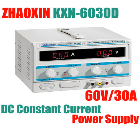 New High-Power DC Power KXN-6030D 0-60V 30A Adjustable DC Constant Current Power Supply Plating Aging new kxn 1005d high power switching dc power supply adjustable dc 0 100v 0 5a