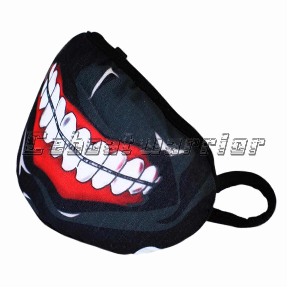 Tokyo Ghoul Kaneki Ken Mask Red teeth spots