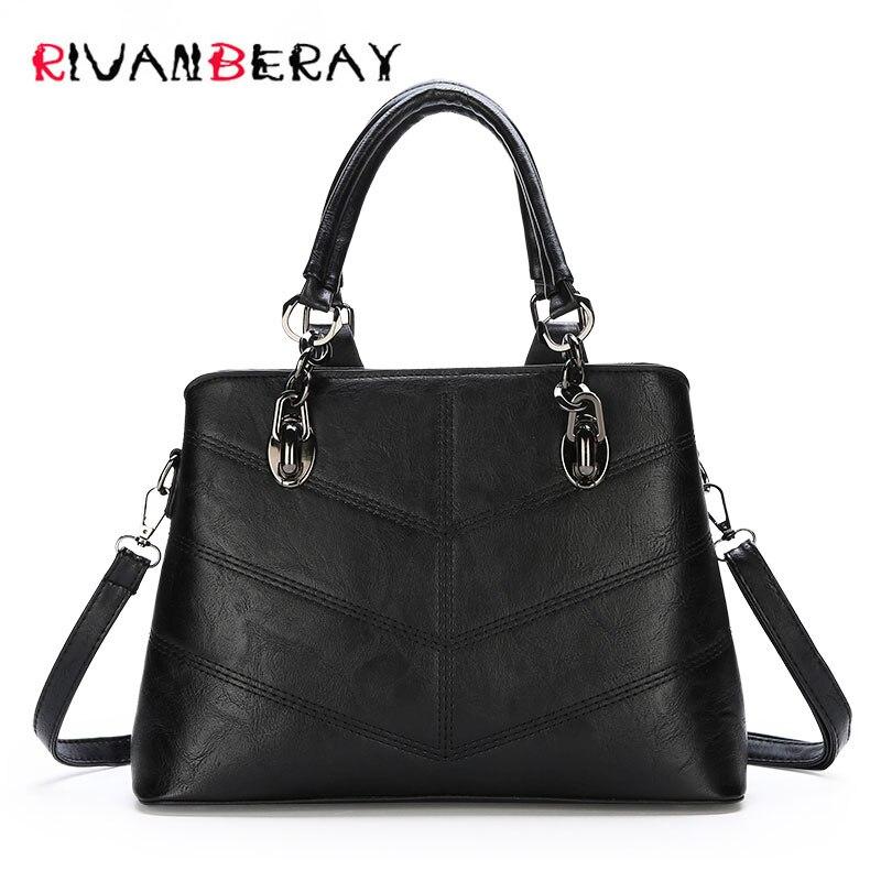 eeba20880f70 2018 Fashion Luxury Ladies Handbags Women Bags Designer Large Capacity Tote  Bag High Quality PU Leather Shoulder Crossbody Bags