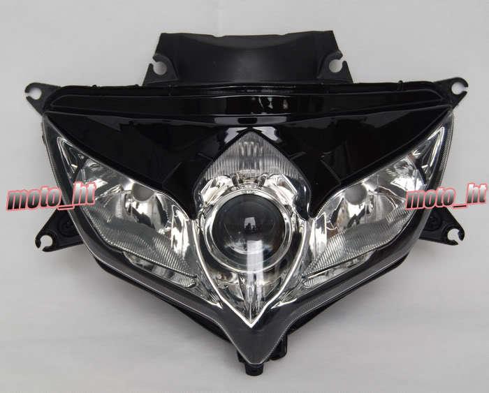 Prix pour Phare Assemblée Phare Pour Suzuki 08 09 GSXR 600 750 K8 2008 2009 Avant Moto Éclairage Remplacement Head light