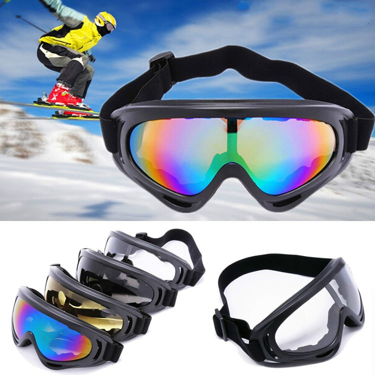 100% UVA Protective Skiing Eyewear Tactical Airsoft Paintball Goggles Outdoor Sports Bicycle Cycling Riding Sunglasses
