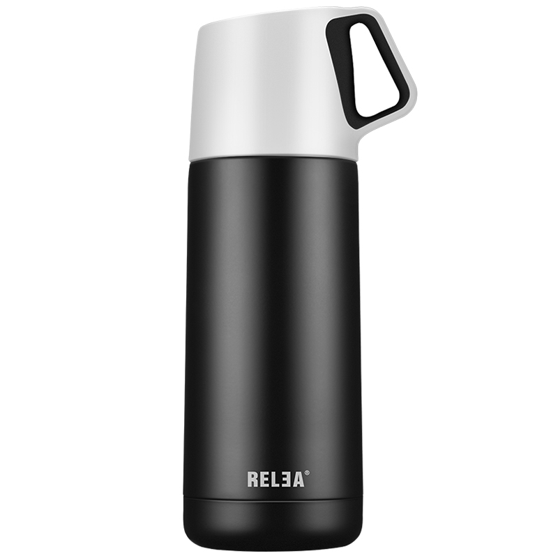 Aliexpress Com Buy 350ml Outdoor Portable Pet Dog Water: 350ML Creative Black White Stainless Steel Thermos RELEA