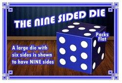 Os Nove Die Sided Dice Truques de Mágica Magie Truque Mágico de Palco acessório Prop Comédia Ilusão