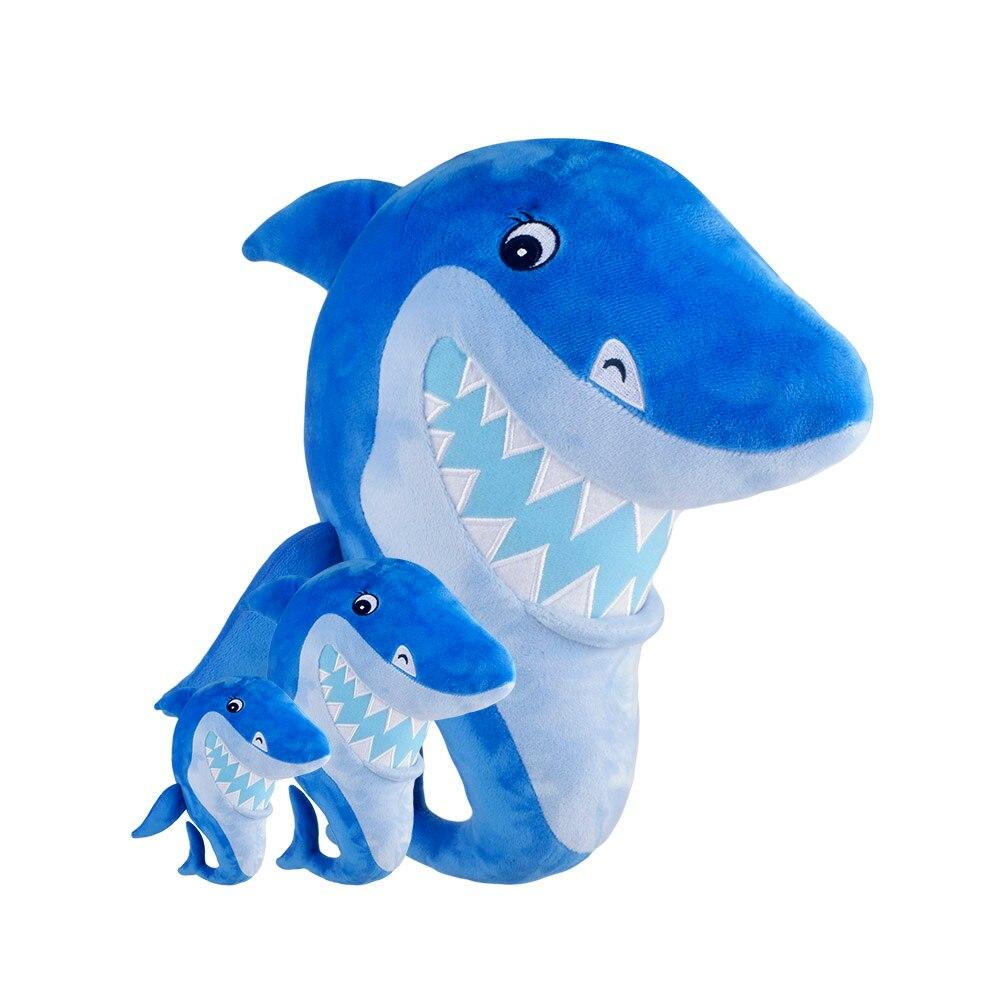 Cute Shark Plush Toys Baby Shark Official Plush Stuffed Animals Kids Toys 25cm