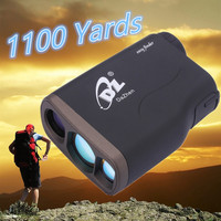 1000M Waterproof Golf Laser Rangefinder Hunting Telescope Distance Meter Speed Range Finders Monoculars Archery Speed Measuremen