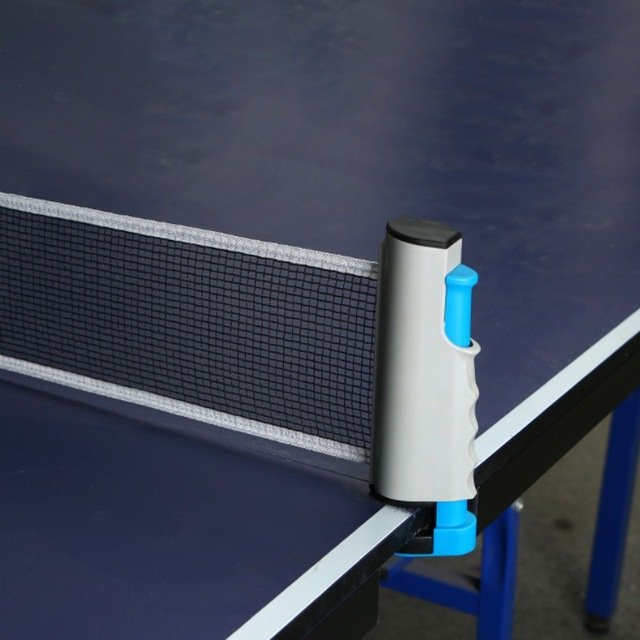 2M Table Tennis Net Rack PE Portable Retractable Extendable Ping Pong Mesh  Stand Training Competition Accessories