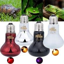 ПЭТ нагревательная лампа UVA День Ночь амфибия змея лампа тепловая лампа для рептилий светильник 25 Вт 50 Вт 100 Вт AC220-240V Прямая поставка
