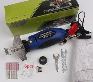 Image 1 - Mini Kettensäge Kette 12V Kettensäge Spitzer Grinder Hohe Qualität Elektrische Grinder Datei Tools Power Tool