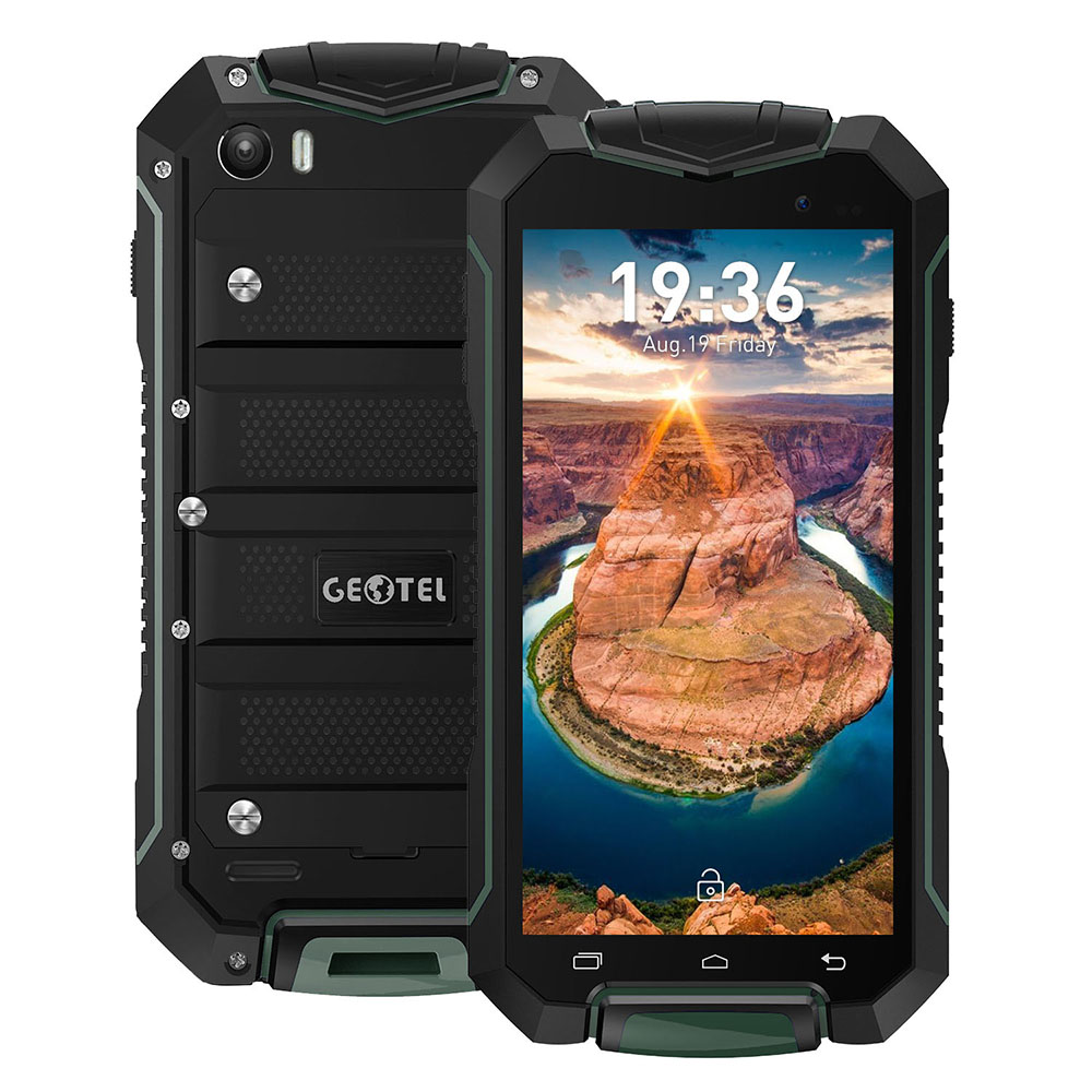 GEOTEL A1 Mobile Phone Waterproof Dustproof Android 7.0 8MP Cam MT6580 1.3GHz Quad Core 1GB RAM 8GB ROM IP67 4.5'' 3G Smartphone