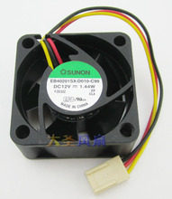 Original SUNON EB40201SX-D010-C99 40*40*20MM 4CM DC12V 1.44W Cooling fan