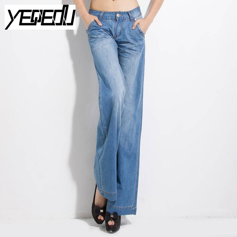 #2022 Casual Female jeans Wide leg Fashion Loose Vintage Boyfriend Plus size Fashion Distressed Roupas femininas Denim jeans hot new large size jeans fashion loose jeans hip hop casual jeans wide leg jeans