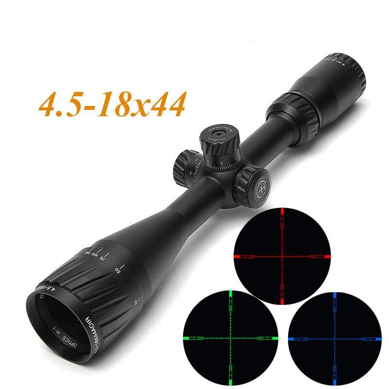 купить HAVVKE 4.5-18X44 AOIR Long Eye Relief Scope Optics Tactical Rifle Scopes Miras De Rifles For Airsoft Air Guns Rifle по цене 4640.83 рублей