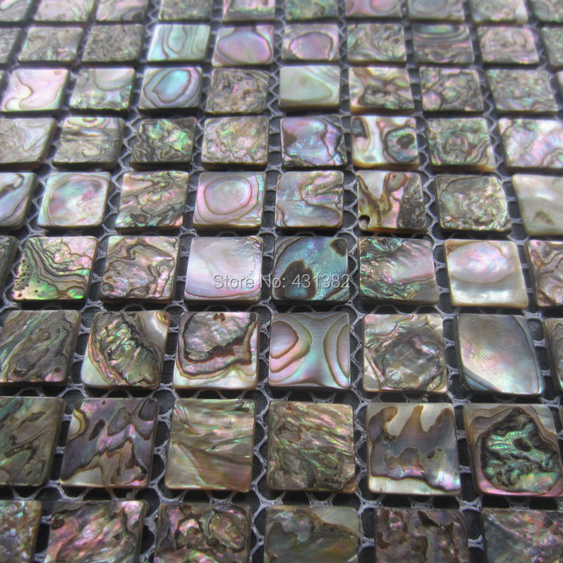 Abalone Shell Green Mosaic Tile Kitchen Backsplash Tiles Mother Of Pearl Mosaic Tiles