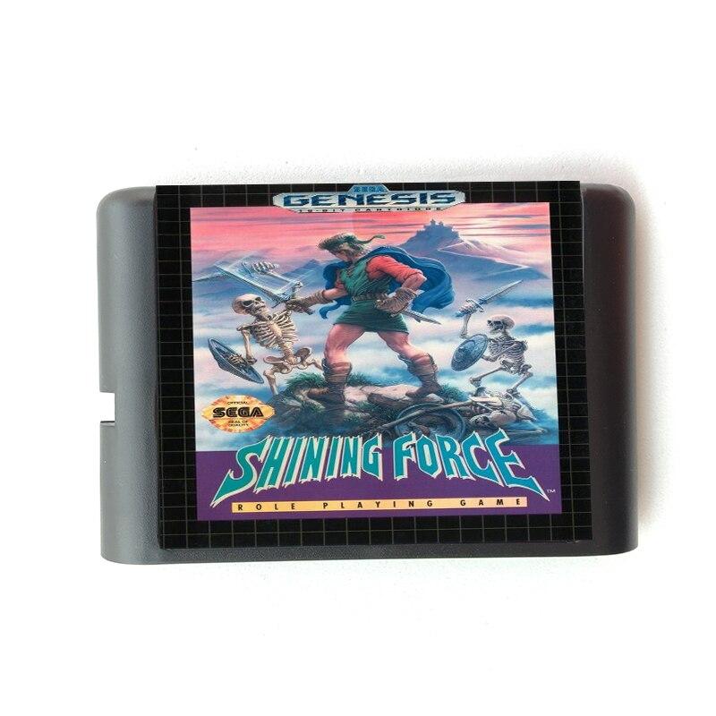 Shining Force 16 bit Sega MD Game Card for Mega Drive for Genesis