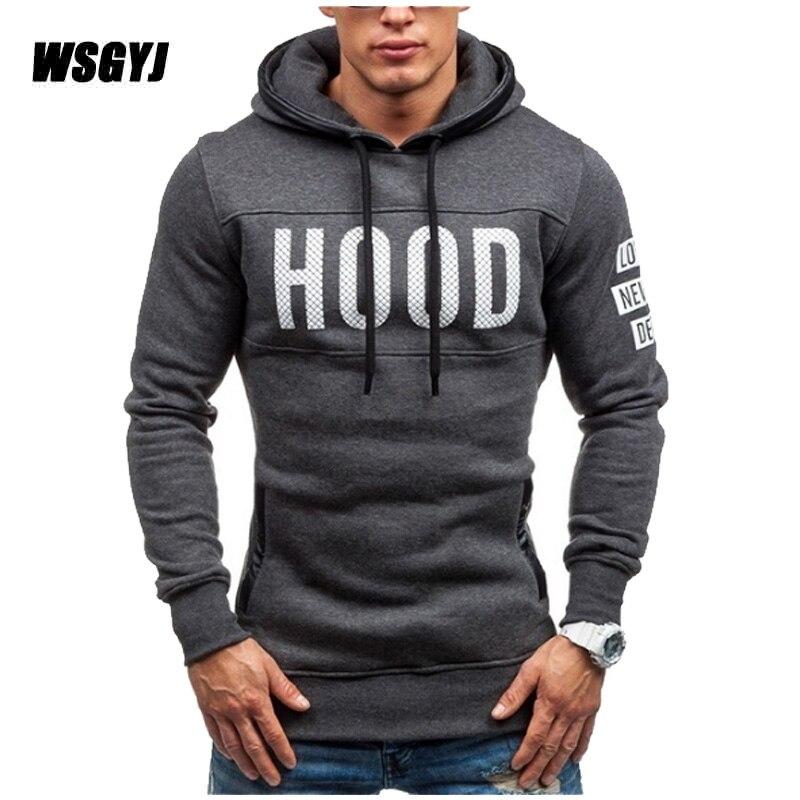 Moleton Masculino 2017 Slim Hoodies Men s