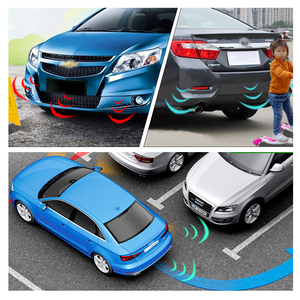 Image 5 - 자동차 자동 Parktronic LED 주차 센서 4 센서 역방향 백업 주차 레이더 모니터 자동차 부저 감지기 시스템 디스플레이