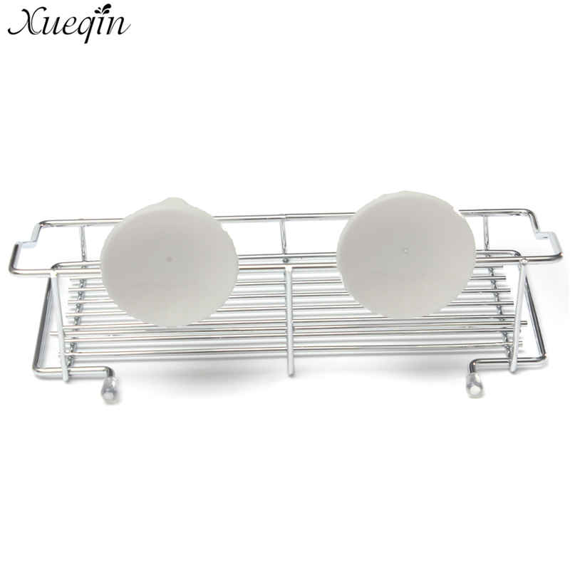 Xueqin Bathroom Strong Suction Cup Metal Holder Storage Basket ...