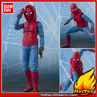 Original BANDAI Tamashii Nations S H Figuarts SHF Exclusive Action Figure Spider Man Home Made Suit