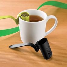 1 шт. ситечко для чая травяная сеточка для заваривания листового чая многоразовый фильтр для чая кофе дуршлаг кухонная чайная ложка чай для заварки Фильтр LB 375