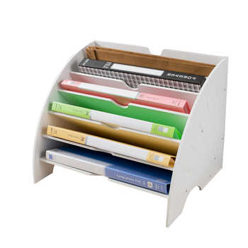 A4 Magazine Holder Organizers File Storage Box Desk Accessories File Holder Magazine Joy Corner - DISCOUNT ITEM  0% OFF All Category