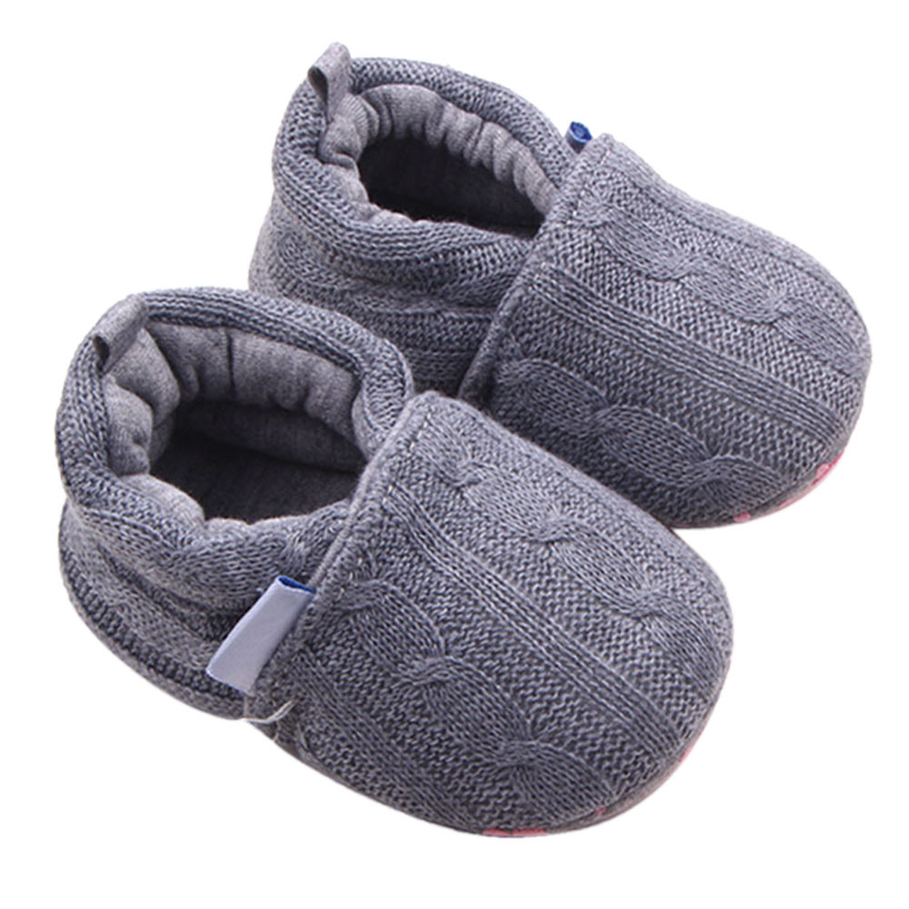 Shoes Baby Prewalkers Crib Soft-Sole Anti-Slip for Kids YJ6