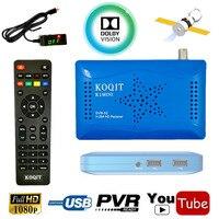 DVB-S2 цифровой спутниковый ресивер HD AC3 аудио Поддержка USB WI-FI YouTube двойной USB Host CS CCcam Newcam Мощность Vu Biss Ключевые декодер