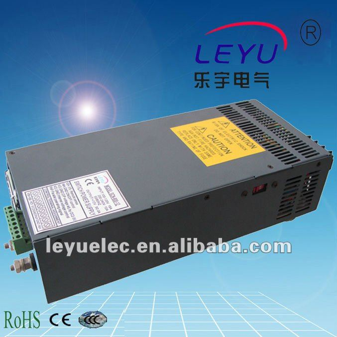 CE RoHS approved SCN-600-12 single output high power power supply with parallel function ce rohs high power scn 1500 24v ac dc single output switching power supply with parallel function