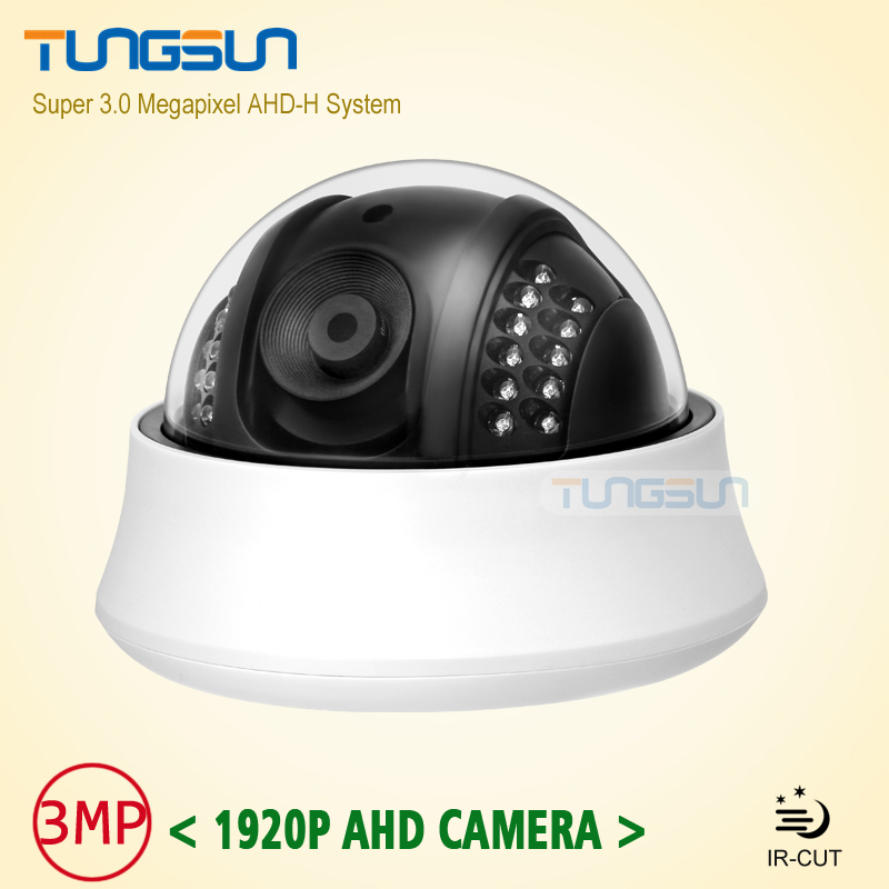 ФОТО NEW Product Full HD 3MP Lens 1920P Indoor Mini White Dome Video Surveillance infrared Super IMX322 AHD Security Camera