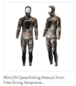 Body Glove 3mm Free Dive Spearfishing 2 Pieces Beaver Tail WetSuit Size M