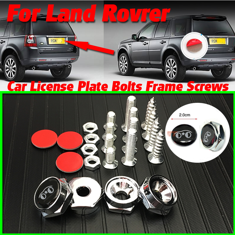Screws /& Wrench NEW REAR LICENSE PLATE BRACKET FOR AUDI A6 S6 RS6 2009-2011
