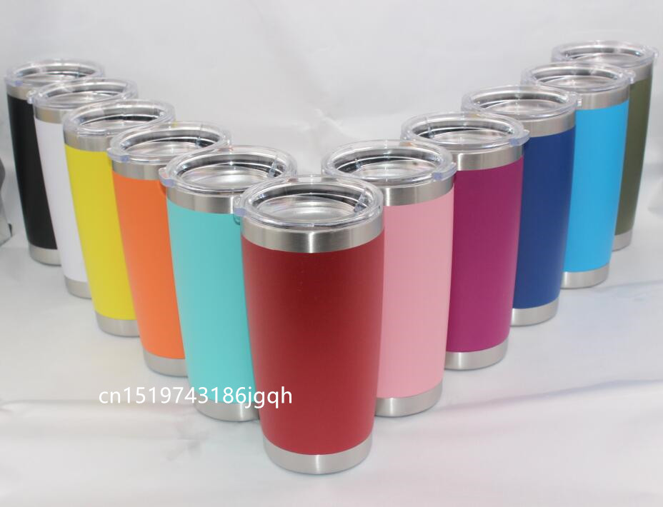 10pcs 20oz 30oz Tumbler Stainless Steel Double Wall Vacuum Insulated Travel Coffee Beer Mug 10oz mugs