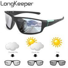 Sunglasses Men Driver Safty-Goggles Lentes-Sol Chameleon Polarized Photochromic Women