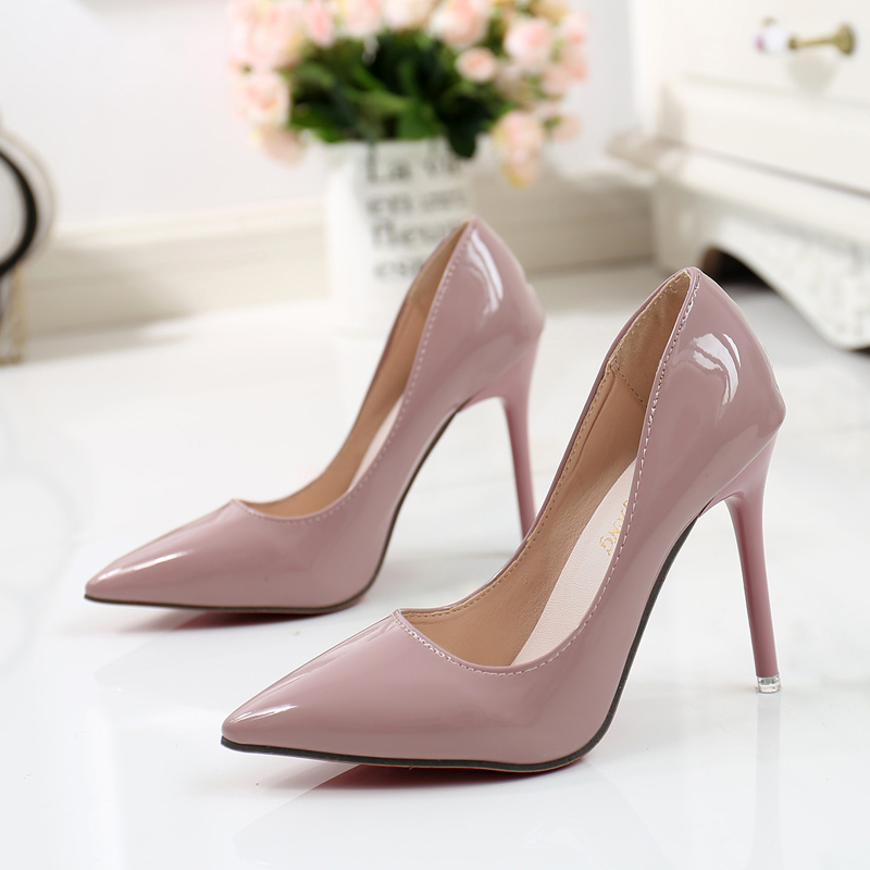 Express nude high heels